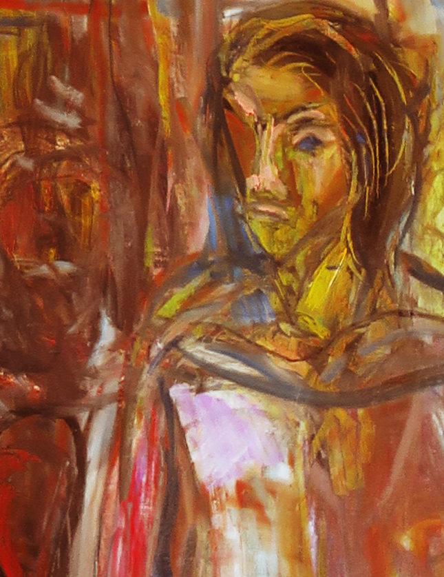 スーチンの風景画と表現主義 油絵制作Bの② 遠近法の考え方