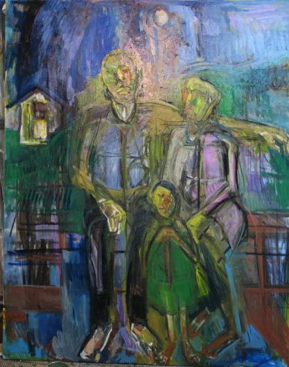 ベニシアさんのエッセイと人生 絵のテーマとしての家族