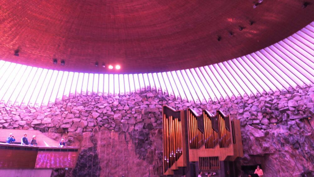 テンぺリアウキオ教会・JTBの北欧ツアーに参加して